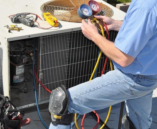 AC System Maintenance HVAC