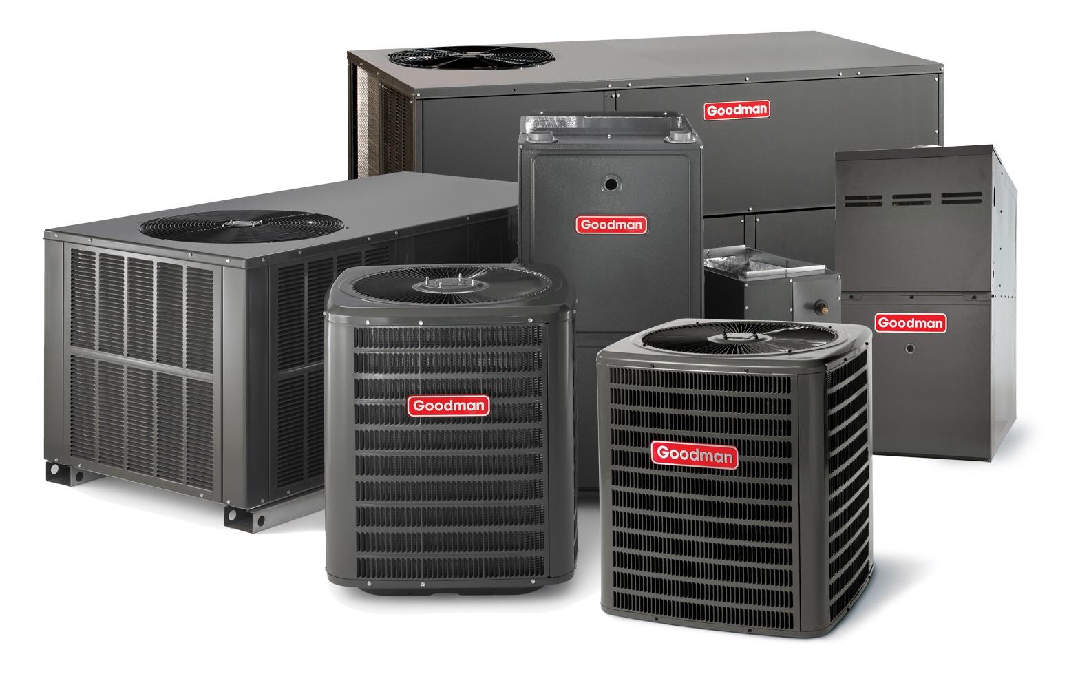HVAC New Installation Goodman Products